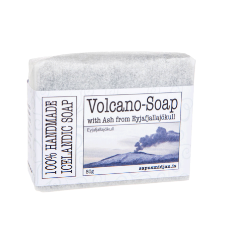 Volcano-soap